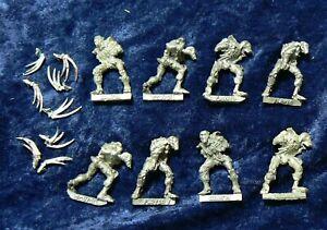 8x Necron Flayed Ones Metal Necrons Warhammer 40K OOP