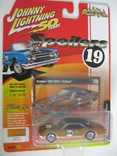 1967 Oldsmobile Cutlass CUSTOM ORO ** RR ** JOHNNY LIGHTNING spoilers 1:64 NUOVO