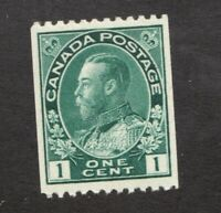 #131  -  Canada -  1915  -  1 Cent  -  MNH  - VF -  superfleas