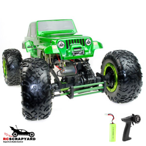 RC Cars Crawler Monster Truck 1/8 - Ready to run. + Controller & Battery.