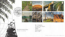 21 APRIL 2005 WORLD HERITAGE SITES ROYAL MAIL FIRST DAY COVER BLENHEIM PALACE g