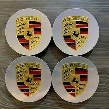 4x Original Porsche 992 991 997 996 Nabendeckel Felgendeckel poliert farbig NEU
