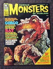 1968 Famous Monsters #50 July Gorgo The Destroyer Horror Magazine FVF 7.0