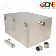 18Kg Commercial Grease Trap Waste Fat Filter Stainless Steel Restaurant Takeaway