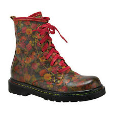 L'Artiste by Spring Step Women's   Robbi Floral Combat Boot