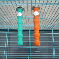 1* Caged Bird 8cm Calcium Trimming Perch Beak Claw Cockatiel Parakeet Parrot
