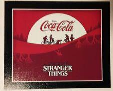 ☆ STRANGER THINGS & Coca Cola ♡ Fridge Magnet ♡NEW LARGE VERSION 4X4