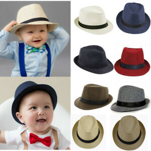 Baby and Toddler Bruno Mars Fedora Hats