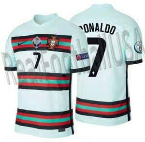 NIKE CRISTIANO RONALDO PORTUGAL NATIONS LEAGUE AWAY JERSEY 2020 2021