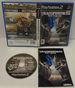 Console Game Gioco SONY Playstation 2 PS2 PAL ITALIANO - Transformers The Game -