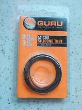 Guru Micro Silicone Tubing 0.3mm Bore, 1.5m Length  Fishing tackle
