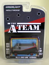 Greenlight 1/64 Scale The A-Team B.A's 1983 GMC Vandura Diecast Model Car