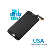 Black For Moto G5 Plus XT1681 XT1683 XT1687 LCD Display Touch Screen Digitizer
