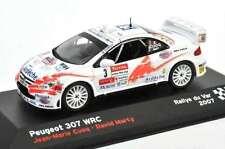 Peugeot 307 WRC #3, Cuoq 1st 2007 Rally du Var, IXO Altaya  Diecast  1/43  NEW!