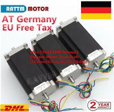 3 Unidades 3nm Nema 23 Stepper Motor 4.2 un 4-wires 10 Mm De Eje hágalo usted mismo Cnc Molino Torno Router