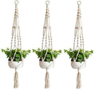 Macramé Plant Hooks Hangers For Sale In Stock Ebay