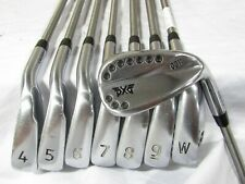 Used PXG 0311 Forged Iron Set 4-W,G SteelFiber i95 Stiff Flex Steel Shafts