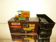 MATCHBOX JCC 1912 FORD MODEL T TRUCK - for all kids under 99 - VERY GOOD IN BOX