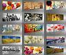 Quadri Moderni 3 Pezzi cm 50x150 Stampa su Tela Canvas Quadro Idea Regalo