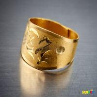 24K .999 Pure Gold Ring Korean Birthday Adjustable Ring Dol Banji - 3.75 g 1 Don