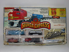 Bachmann Silver Express Train Set Atsf Diesel Locomotive OriginalBox