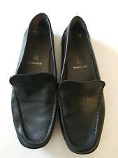 Women's Geox Black Slip-on Loafer Italian Size 37/7