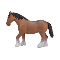 Mojo CLYDESDALE HORSE toys model figure kids girls plastic animal farm figurine