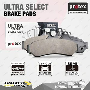 4pcs Front Ultra Select Brake Pads for Chevrolet Brookwood C10 C20 C30 Camaro