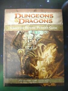 Dungeons & Dragons-Forgotten Realms-Player's Guide-RPG