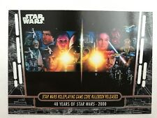 2017 Star Wars 40th Ann. #84 Star Wars Roleplaying Game Core Rulebook Released