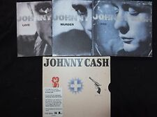 COFFRET 3 CD JOHNNY CASH / LOVE GOD MURDER /