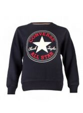 Converse All Star Boys Chuck Taylor Crew Neck Sweater Jumper Navy 10-12 Years