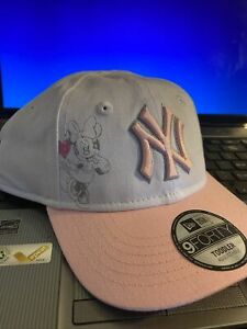 New Era 9Forty New York Yankees Toddler Minnie Mouse Cap-New With Tags!