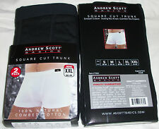 ANDREW SCOTT BASICS SQUARE CUT TRUNK XXL 44-46
