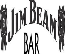 Jim Beam Bar Sticker 550 x 140 Quality Sticker great for the bar