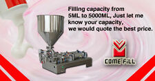 90-1000ml two outlets liquid paste filling machine with 2 nozzle,1 year warranty