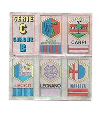 RARISSIMA FIGURINA DOPPIA PANINI 1974/75 74/75 DOPPIO SCUDETTO SERIE C