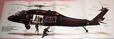 HUGE! UH-60 BLACK HAWK HELICOPTER POSTER picture print blackhawk down