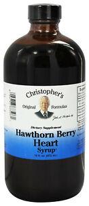 Christopher's Original Formulas Hawthorn Berry Syrup 16 oz