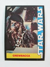 1977 Wonder Bread STAR WARS #9 Trading Card Chewbacca