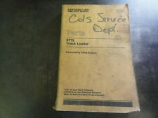 Caterpillar CAT 977L Track Loader Parts Manual   SEBP1207
