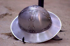 Medieval Reenactment Infantry Spanish Kettle Hat Helmet larp Role-Play Replica