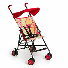 NEW HAUCK POOH SPRINGS RED SUN PLUS LIGHTWEIGHT PUSHCHAIR BABY STROLLER BUGGY