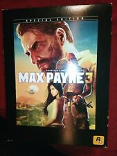 Xbox 360 Max Payne 3 Special Collectors Edition mit OVP inklusive Figur + Spiel