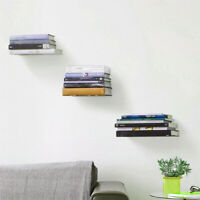 1/2PCS Floating Metal Shelf From For Storing And Displaying Your Favorite Books