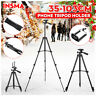 Universal Telescopic Camera Tripod Stand Mount Phone Holder For iPhone Samsung