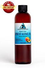 APRICOT KERNEL OIL UNREFINED ORGANIC VIRGIN COLD PRESSED RAW NATURAL PURE 4 OZ
