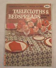 Tablecloths & Bedspreads to Knit & Crochet Coats & Clark's  Book 193 10 Patterns