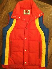 Vintage 80s Mountain Goat X White Stag Down Puffer Vest, Men's Large