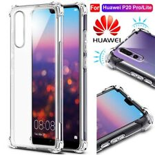 360° Shockproof Soft Silicone TPU Case Cover For Huawei P20 P10 Mate 10 Pro Lite